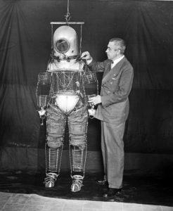 Emilio Herrera y sus inventos, el traje espacial