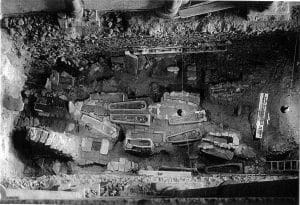 necrópolis de la catedral de Santiago Compostela