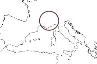 Ubicación de Fraxinetum