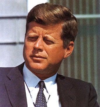 J.F.K. John Fitgerald Kennedy