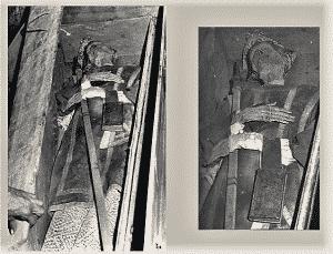 D. Alonso Suarez de la Fuente del Sauce obispo momificado e insepulto de Jaén, guardado en una cajonera durante siglos