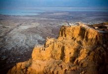 Fortaleza da Masada judios Israel