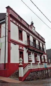 Casa de uno de los indianos en Asturias