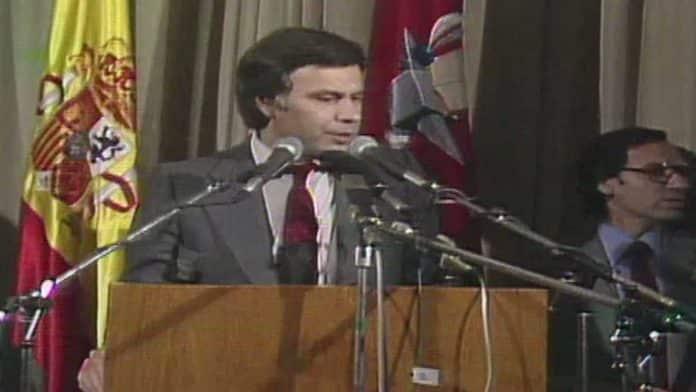 cartel del PSOE en las elecciones de 1982