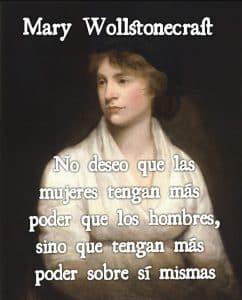 MAry Wollstonecraft y el feminismo