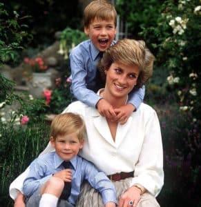 Lady Di, Diana Spencer, Diana de Gales, princesa de Gales y sus hijos