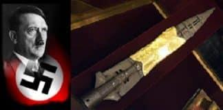 Hitler, los nazis y la Lanza del Destino o Lanza Sagrada de Longinos Viena. Con ella, según la Biblia, atravesaron el costado de Cristo, una de las reliquias más buscadas.