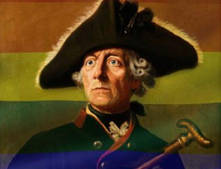 Federico II de Prusia: influencer, gay y con daddy issues