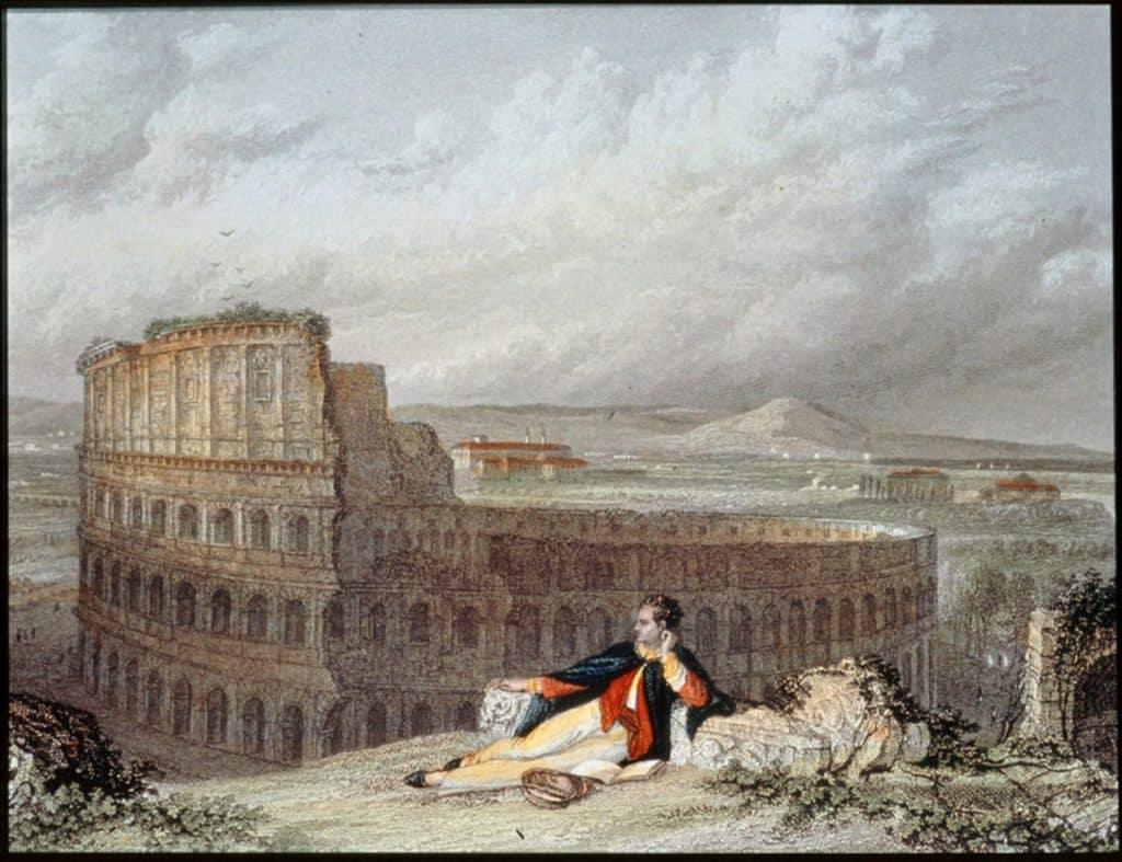 lord Byron en Roma