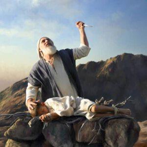 sacrificio humano, sacrificios infantiles Abraham