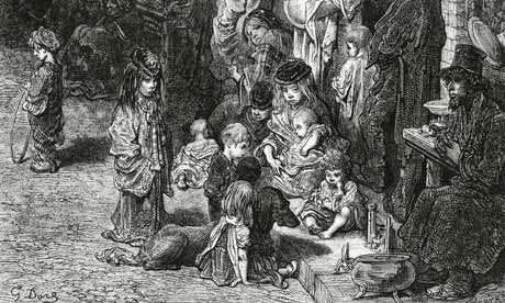 mendigos y los vagabundos en la Edad Media y en Edad Moderna...
