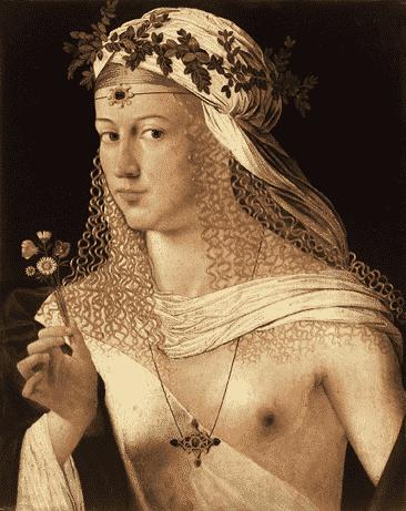 Lucrecia Borgia, hija del papa Borgia Alenjadro VI