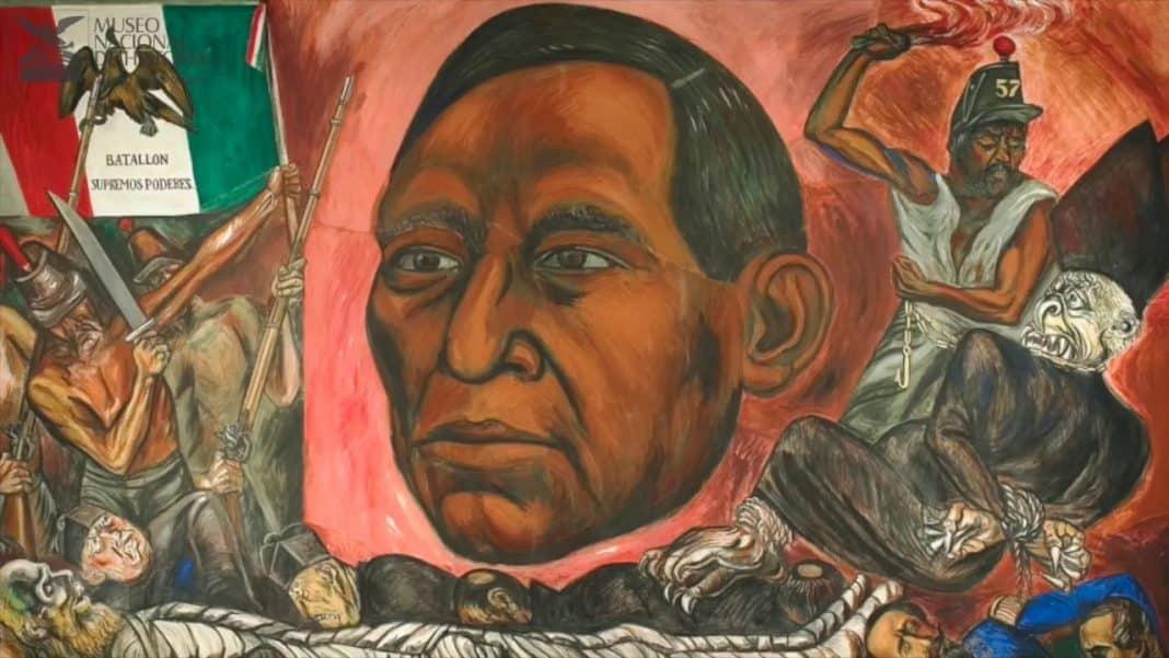 Benito Juárez presidente de México
