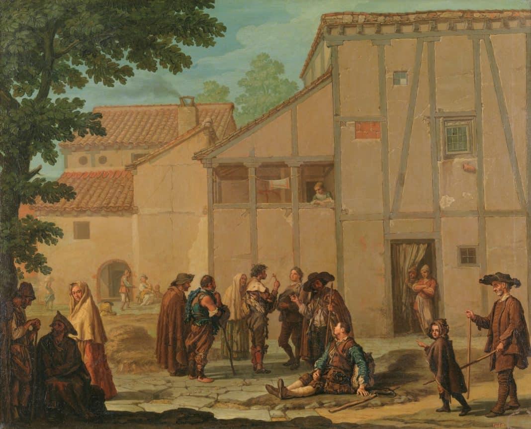 los mendigos y los vagabundos en la Edad Media y en Edad Moderna... bagamundos