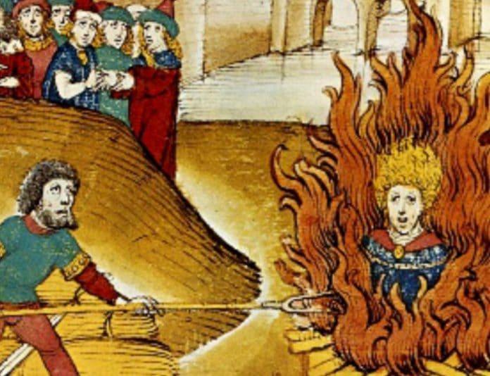 herejías y guerra en la Iglesia, los cátaros, los templarios, los protestantes y la inquisición