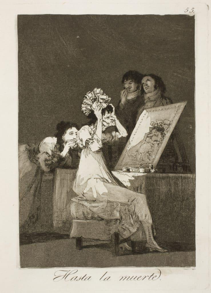 Goya, la mujer y la vanidad, cánones de belleza