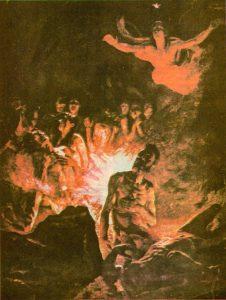 Almas del purgatorio que se honran el día de los muertos, no el día de todos los santos