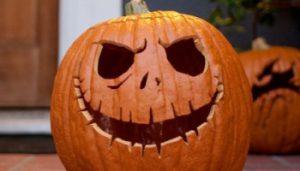 La calabaza de Halloween