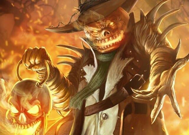 La calabaza de Halloween, Jack O´Lantern