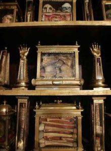 Reliquias de Felipe II en El Escorial