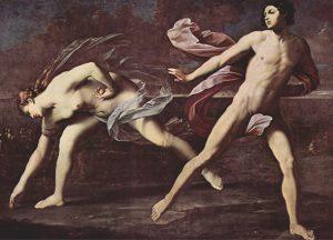 Hipomenes y Atalanta