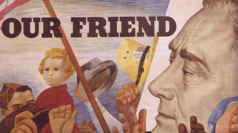 Roosevelt y el New Deal, o cómo ser tachado de comunista aunque se esté arreglando el país