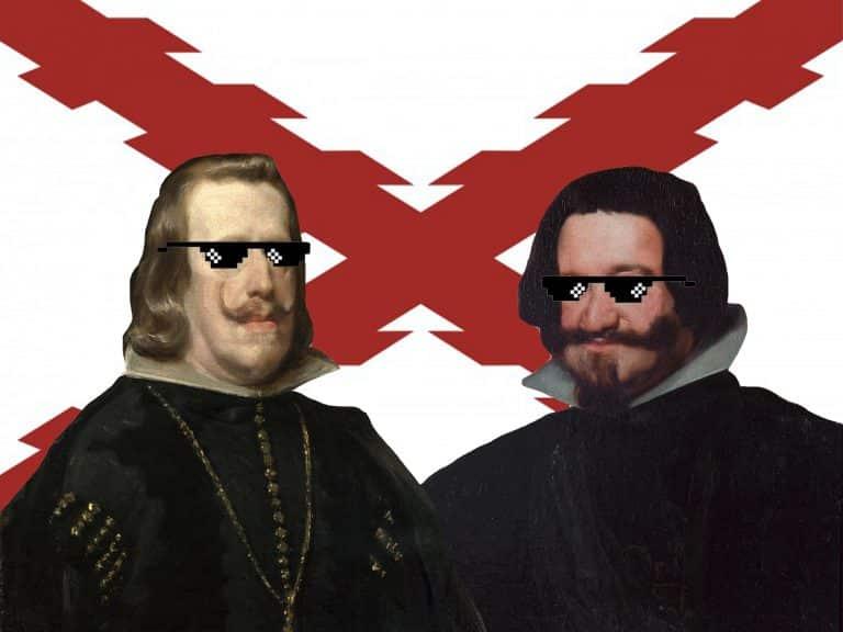 Felipe IV, el conde duque de Olivares y el timo del vellón