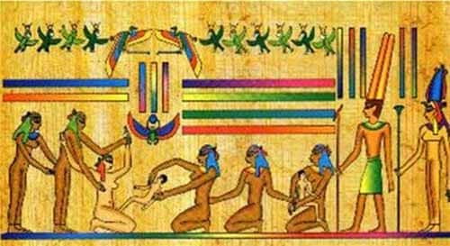 Papiro Kahoun texto médico ginecología