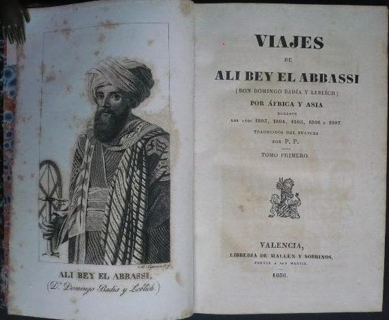 viajes de ali bey el abbassi por africa y asia