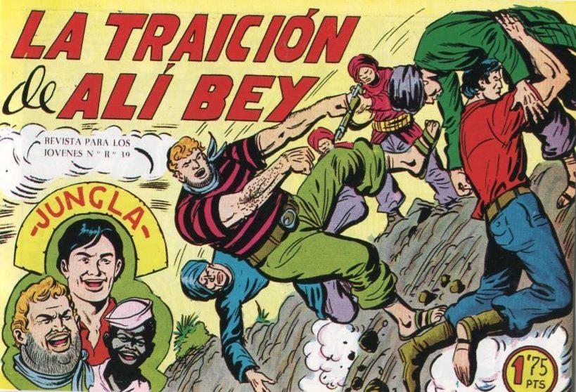 Facsimil Jungla La traición de Alí Bey