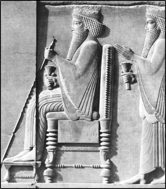 Jerjes I de Persia rey de Persia