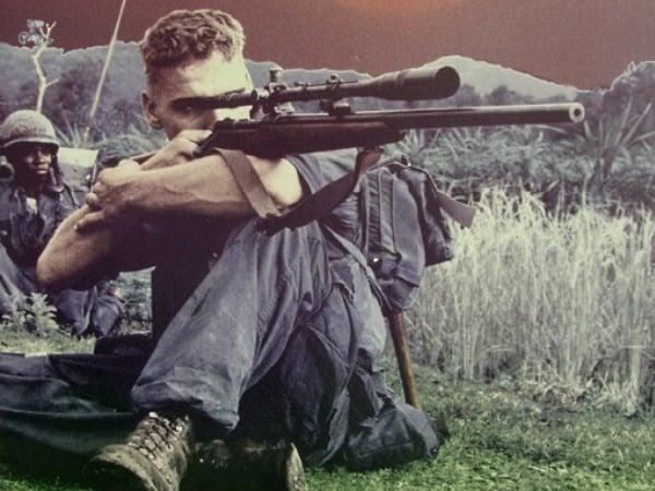 Carlos Hathcock , el mejor francotirador de la Guerra de Vietnam