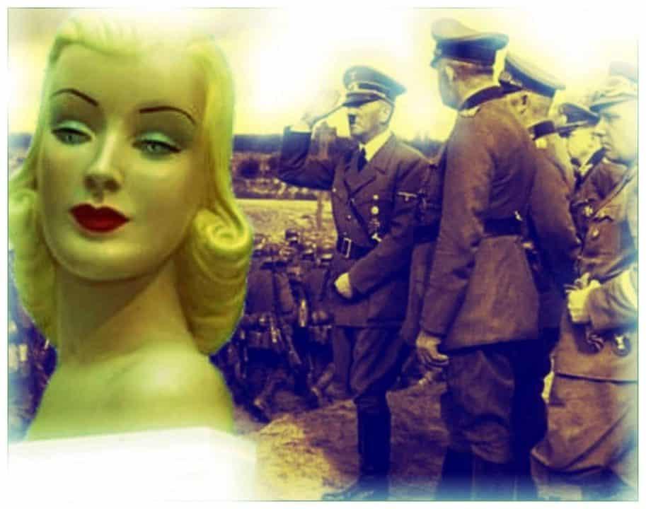 muñeca hinchable nazi