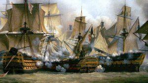 Redoutable, barco de Jean Jacques Lucas en la Batalla de Trafalgar