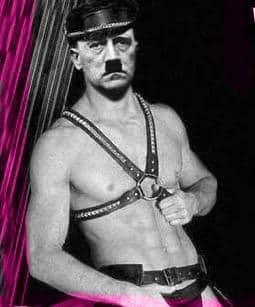 Hitler chapero gigoló puto