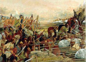 Persas, Guerras Médicas, Esparta, Termópilas los 300 espartanos