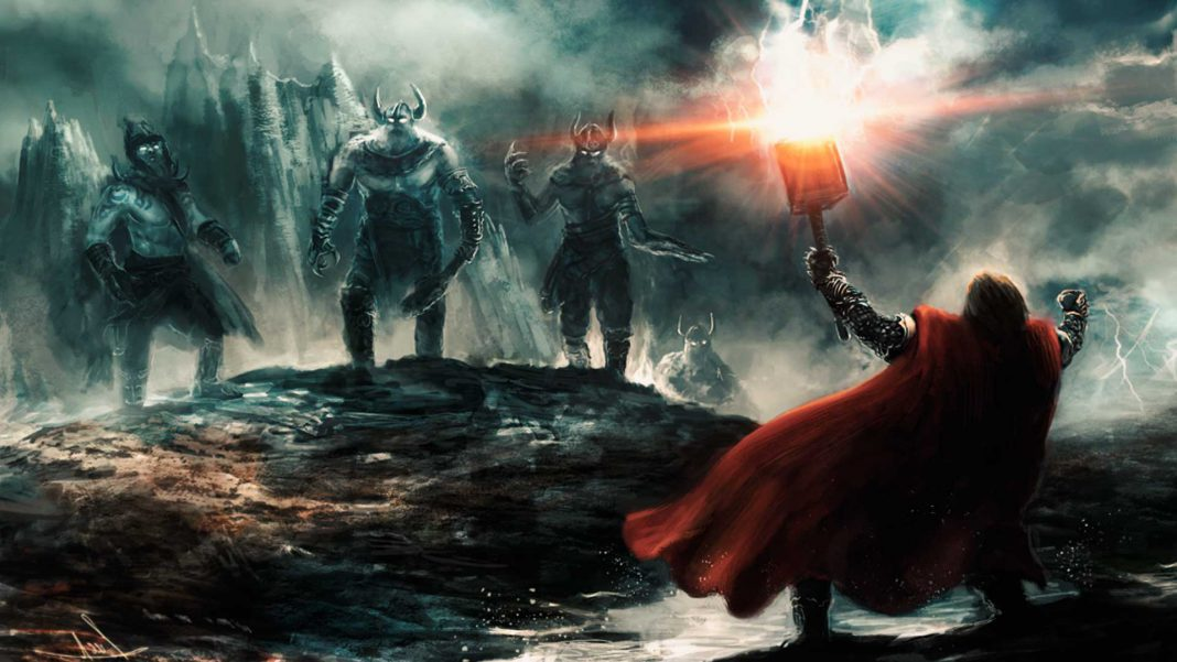 mitologia nordica vikinga el ragnarok o fin del mundo
