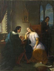 Abelardo y Eloísa en sus clases