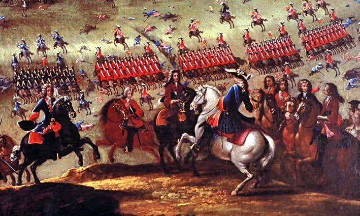 Batalla de Almansa Guerra de Sucesión Española