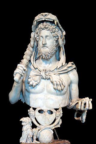 emperador Cómodo Hércules