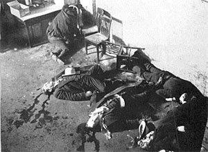 mafiosos asesinados en Chicago el 14 de febrero día de san Valentin mafia de Chicago