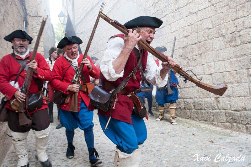 sitio a Gerona sitio a Girona principado de Cataluña Guerra de Sucesión española