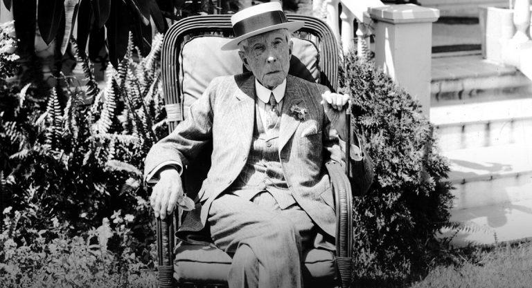 John D. Rockefeller. The Man Who Sold The World