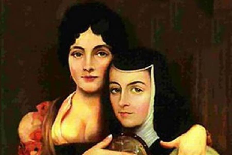 Sor Juana Inés de la Cruz y la virreina María Luisa condesa de Paredes