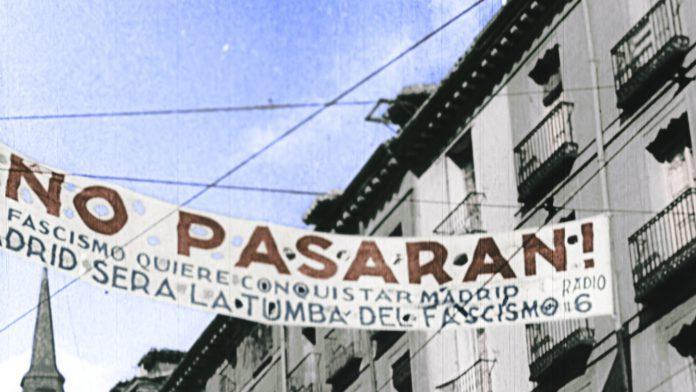 El Madrid del no pasarán y de la postguerra civil española