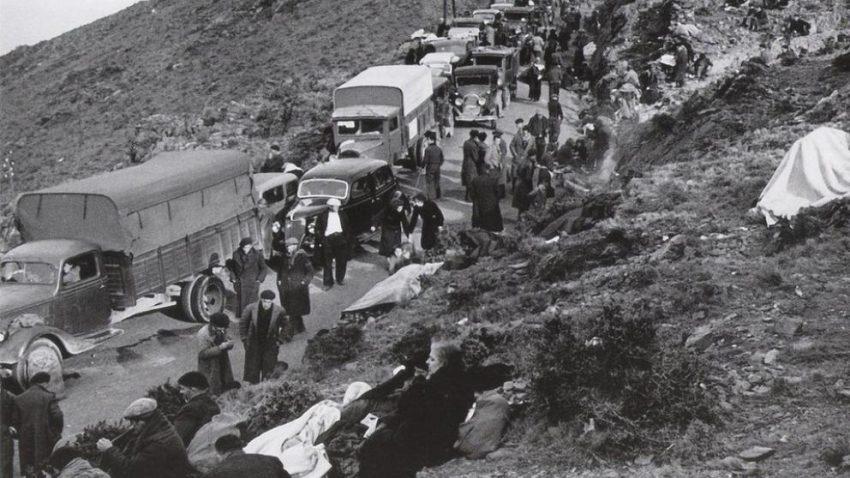 Exilio republicano a Francia como Antonio Machado a Collioure