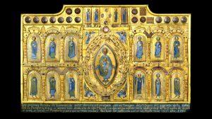 Retablo de san Miguel de Aralar robado por Erik el belga