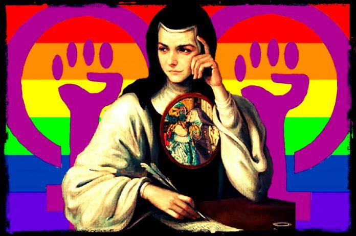 Sor Juana Inés de la Cruz monja feminista lesbiana