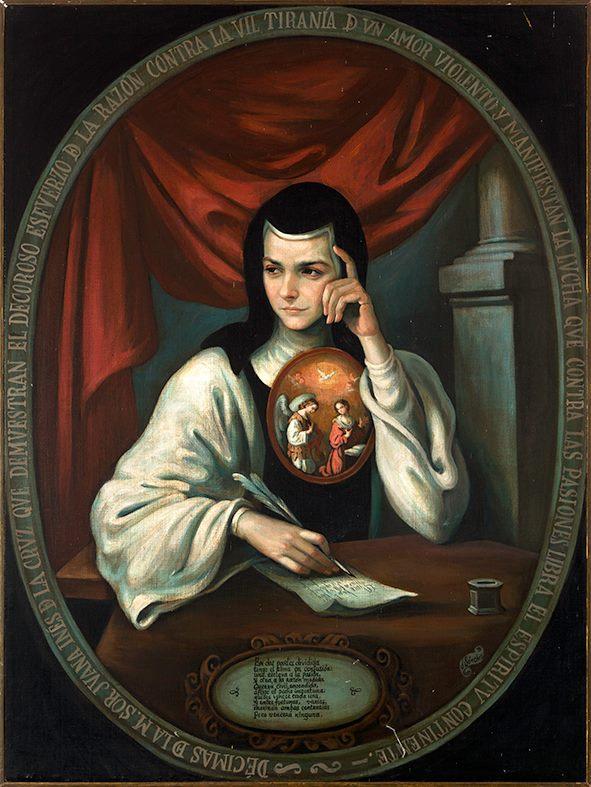 Sor Juana Inés de la cruz vocación virreina Leonor