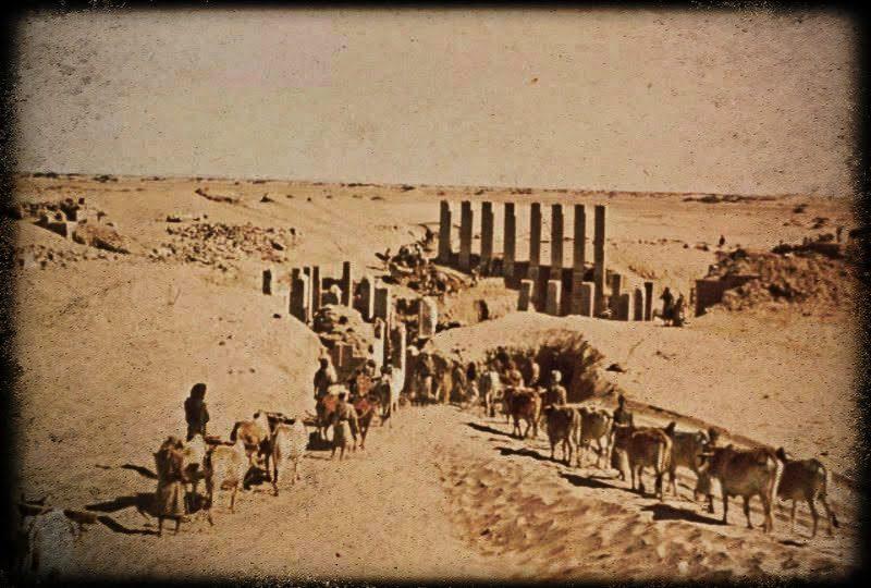templo de Awwam Mahram Bilqis Wendell Phillips Yemen Marib
